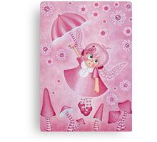 Daydreams in Pink Canvas Print