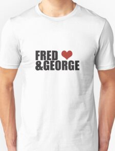 Fred and George Love  Unisex T-Shirt