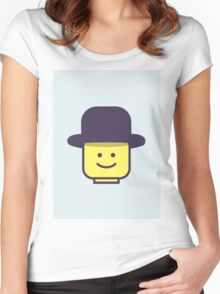 Mr Legoman Women's Fitted Scoop T-Shirt