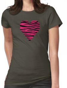 0597 Ruby Tiger Womens Fitted T-Shirt