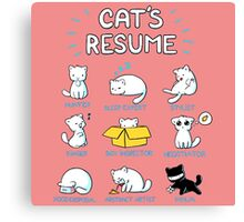 Cats All Style Canvas Print