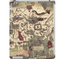Medieval Old Map iPad Case/Skin