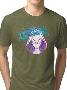 Lovely Neighborhood Spider-Gwen Tri-blend T-Shirt