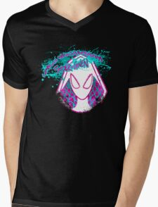 Lovely Neighborhood Spider-Gwen Mens V-Neck T-Shirt