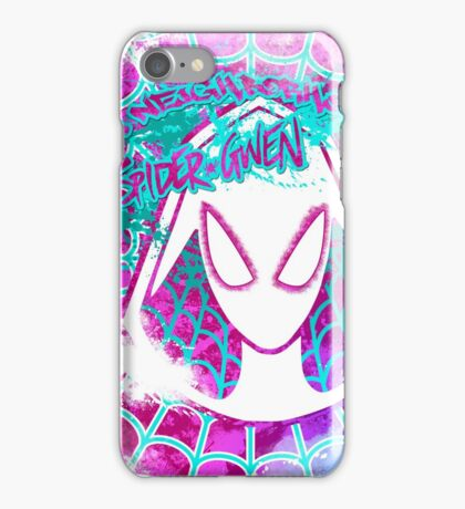 Lovely Neighborhood Spider-Gwen iPhone Case/Skin