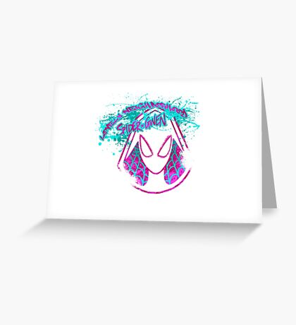 Lovely Neighborhood Spider-Gwen Greeting Card