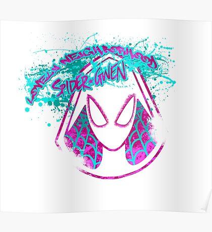 Lovely Neighborhood Spider-Gwen Poster