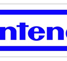 Blue Nintendo Logo Sticker