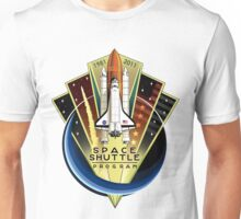 Shuttle Program Comemmorative Patch Unisex T-Shirt