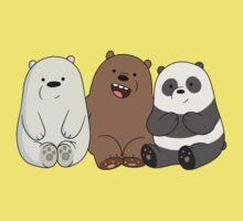 Cute Bare Bear Kids Tee