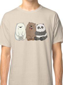 Cute Bare Bear Classic T-Shirt