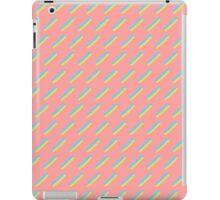 80's Pastel Brush Stroke Retro iPad Case/Skin