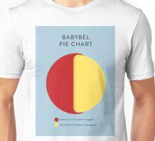 Babybel Pie Chart Unisex T-Shirt