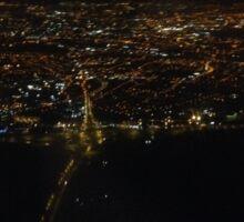 Dublin from Airplane Sticker