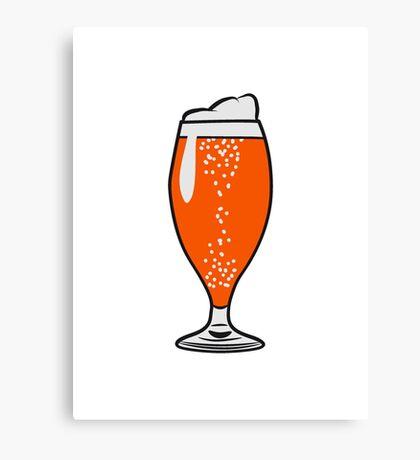 drink beer Canvas Print