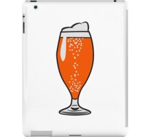 drink beer iPad Case/Skin