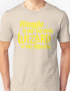 Muggle In The Street Quotes T-Shirt
