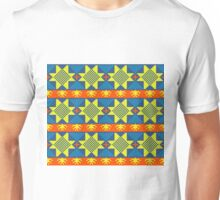 Ethnic design pattern. Russian traditional motive.  Unisex T-Shirt