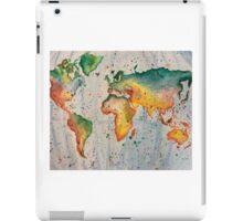 Rainbow map iPad Case/Skin