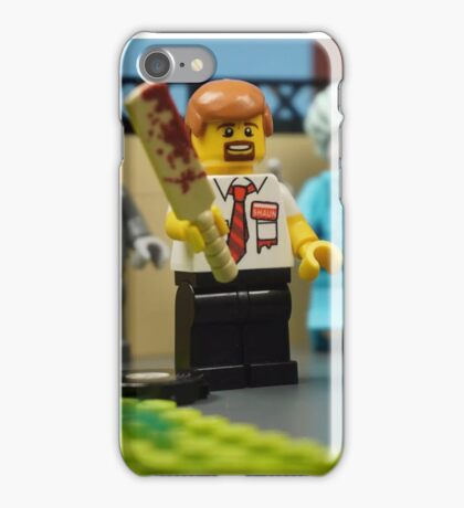 Lego Shaun of the Dead iPhone Case/Skin