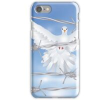 Dove and Barbed Wire iPhone Case/Skin