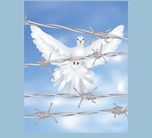 Dove and Barbed Wire Unisex T-Shirt