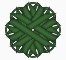 Emerald Green Flower Ribbon Kids Tee