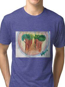 Broccoli tree Tri-blend T-Shirt
