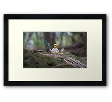 Lego Luke Skywalker Framed Print