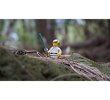 Lego Luke Skywalker Photographic Print