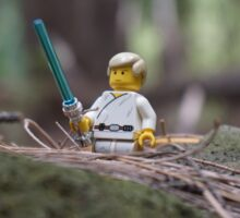 Lego Luke Skywalker Sticker