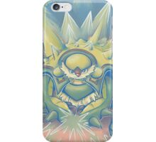 Spikey Shield_painted iPhone Case/Skin