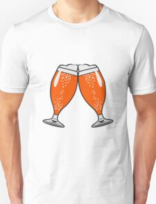 toast drink beer glass of beer T-Shirt