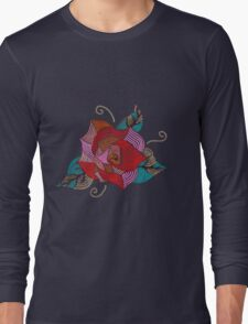 colourful flower Long Sleeve T-Shirt