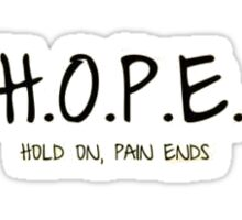 Hope Sticker
