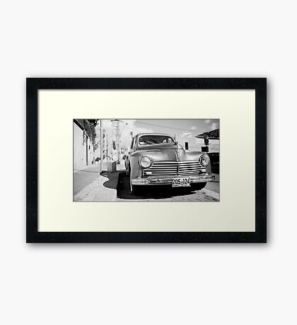 not only in Cuba Framed Print