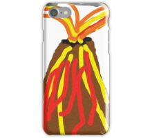 Volcano & House by Xander iPhone Case/Skin