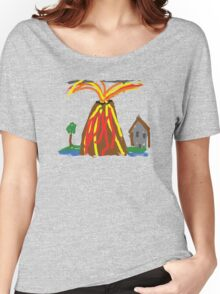 Volcano & House by Xander Women's Relaxed Fit T-Shirt