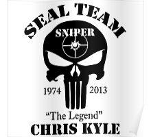 seal team sniper chris kyle Poster
