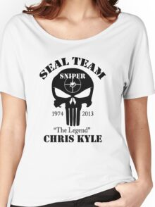 seal team sniper chris kyle Women's Relaxed Fit T-Shirt