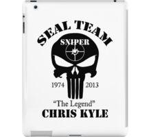 seal team sniper chris kyle iPad Case/Skin