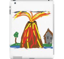 Volcano & House by Xander iPad Case/Skin