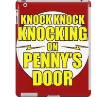 Knocking Penny Door Quote iPad Case/Skin