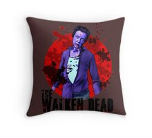 Walken Dead Zombie Throw Pillow