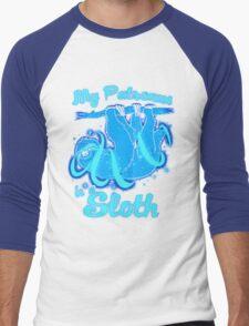 My Patronus Is Sloth Men's Baseball ¾ T-Shirt