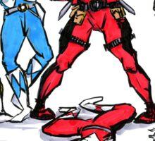 The new Power Ranger Sticker