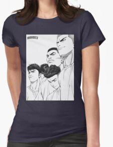 slam dunk. Womens Fitted T-Shirt