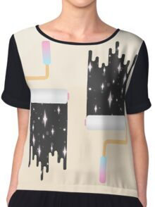 I Show You the Stars Chiffon Top