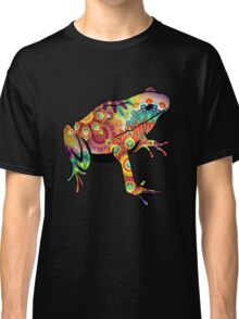 Psychedelic Design Frog Classic T-Shirt