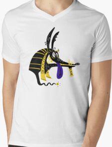 Anoobis Mens V-Neck T-Shirt